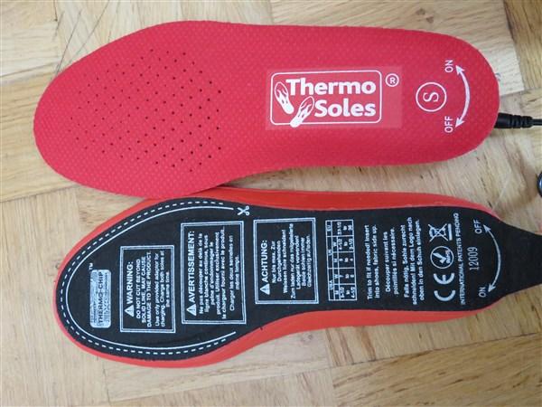 Thermo Soles Deluxe - Schnittlinien