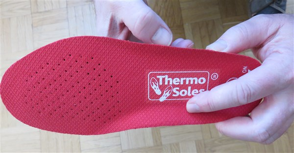 Thermo Soles Deluxe - 3D Form