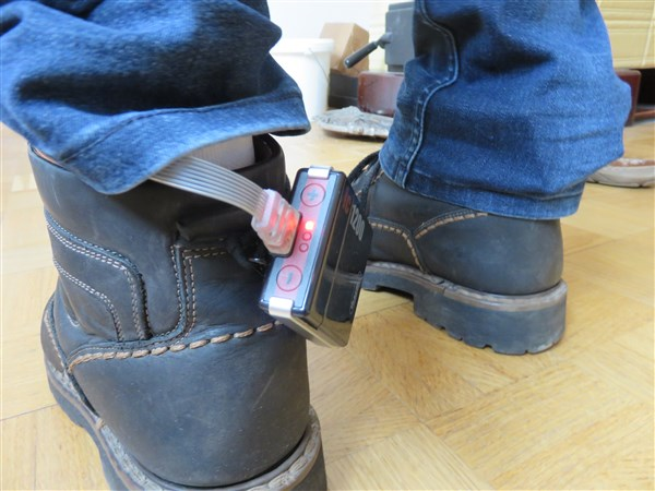 Therm-ic Sole Perform - Anwendung in Winterschuhen